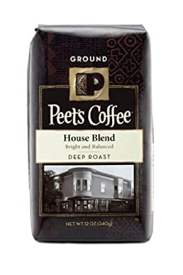 Peet's Coffee Ground Coffee - House Blend - 12 oz