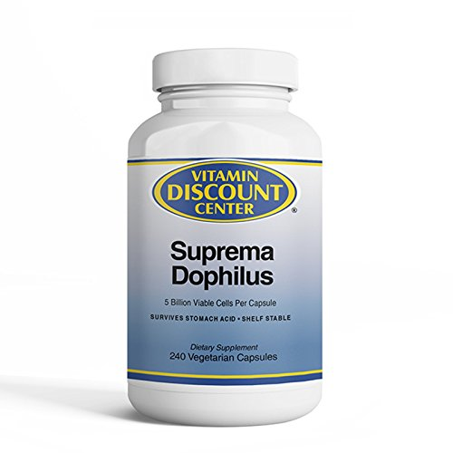 Vitamin Discount Center Suprema Dophilus 240 Capsules