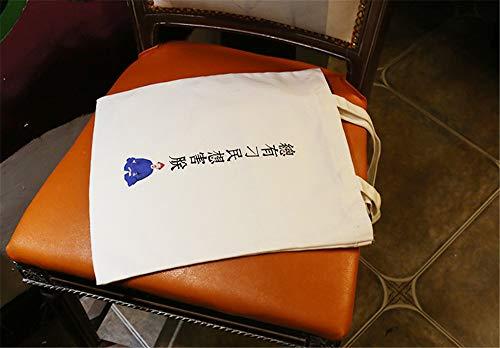 la ocio hombro cartas de escritura de bolsas pequeñas fresca salvaje la estudiante del bolsa LANDONA compra de lona lona de personalizadas cremallera creativa del bolsa del UnqgTq1x