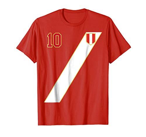 Retro 1970 Jersey (Retro Peru Soccer Jersey Peru T-Shirt 1970 Away)
