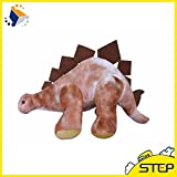 EXTOY 1Pcs 16Inch Giant Dinosaur Plush Animal Toy Soft Stegoceras Doll for World Park Home Decor St398 Girl Boy Must Haves 2 Year Old Girl Gifts Boys Favourite Characters Superhero