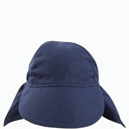 Flap Happy Upf 50+ Flap Hat, Navy, Medium