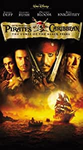 Pirates of the Caribbean - The Curse of the Black Pearl [VHS]