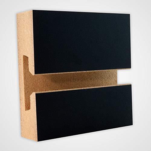 Horizontal Slatwall Panels with Black Finish in 4 Feet H x 8 Feet W by Slatwall Panel (Image #3)
