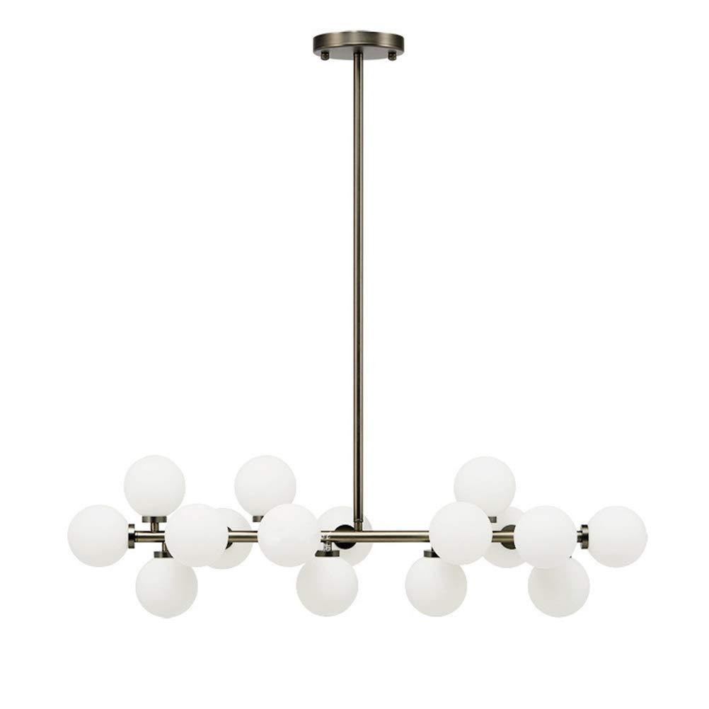 ペンダントライト シャンデリア調節可能な現代のシンプルなペンダント照明北欧ぶら下げライトランプシーリングライト用ダイニングルームリビングルームの寝室 B07PDH2JN6