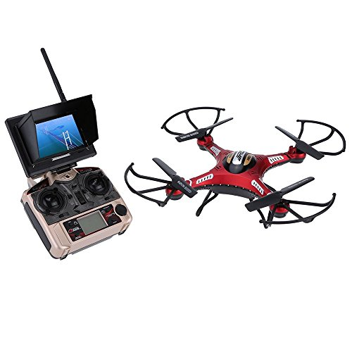 Original JJRC H8D 5.8G RC FPV Quadcopter Headless Mode/One Key Return RTF Drone with 2.0MP Camera FPV Monitor LCD