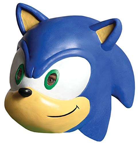 Sonic The Hedgehog Adult 3/4 Vinyl Mask -