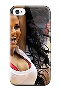 Case For Iphone 4/4S Cover Protector Case Miami Heat Cheerleader Basketball Nba Phone Cover
