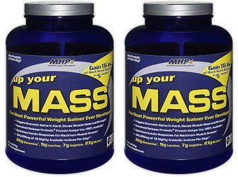 (2 Pack) - MHP - Up Your Mass Choc Fudge | 2200g | 2 PACK BUNDLE