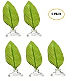 Betta Fish Accessories Betta Hammock Fish Plant Betta Plant Leaf Pad For Betta Fish, Tropical Fish Aquariums & Saltwater Fish Aquariums(Pack of 5)