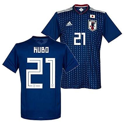 adidas サッカー日本代表 2019 ホーム レプリカ ユニフォーム 半袖 No.21 久保 CV5638/21K (L)
