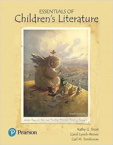 a critical handbook of childrens literature 9th edition online
