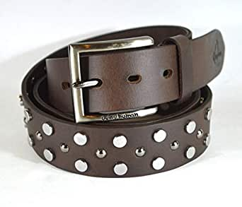 Being Human Brown Leather Belt For Men