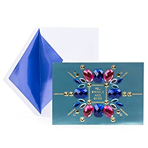 Hallmark Signature Birthday Card (Gem Collage)