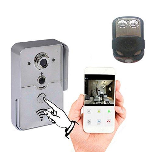 WiFi doorbell camera Intercom with smart phone APP
