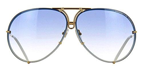 92ee335f0d0d Porsche Design 8478 W Interchangeable Lenses (Azure Blue + Brown)   Amazon.co.uk  Clothing