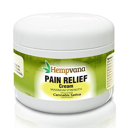 Original Hempvana Pain Cream for Arthritis by BulbHead - The Hemp Cream for Pain Relief & Joint Pain Relief with Hemp Extract