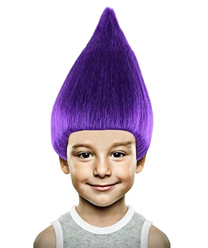 Troll Wig, Purple Kids HM-077/HW-1342]()