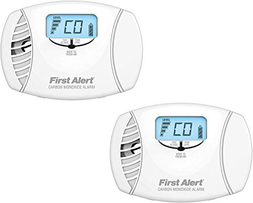 First Alert CO615 Dual-Power Carbon Monoxide Plug-In Alarm with Battery Backup and Digital Display...