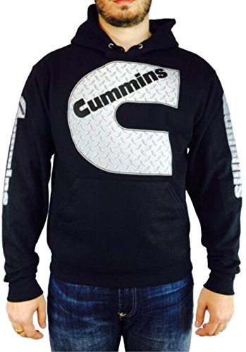 cummins-diamond-plate-hoodie-l