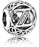 PANDORA - Charm Z Ehemalige 925/1000 Silber PANDORA 791870CZ