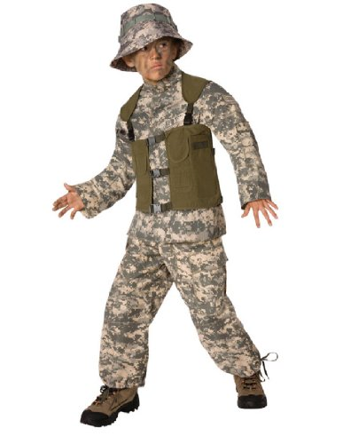 Delta Force Child 4-6 (Delta Force Soldier Child Costume)