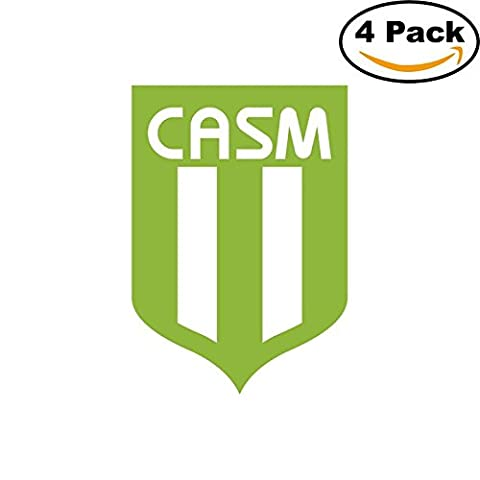 San Miguel Argentina Soccer Football Club FC 4 Stickers Car Bumper Window Sticker Decal 4X4 (San Miguel Salt)