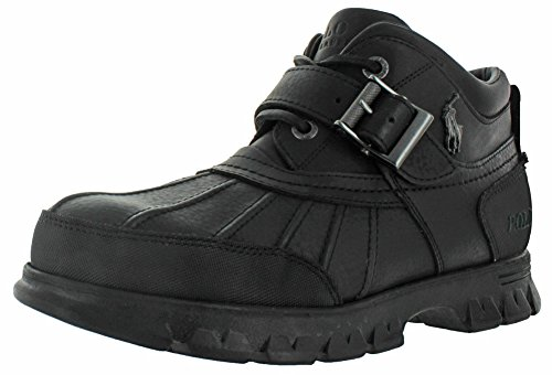 Replacement Boot Buckles - Ralph Lauren Polo Dover III Men's Rugged Duck Boots Black Size 7.5