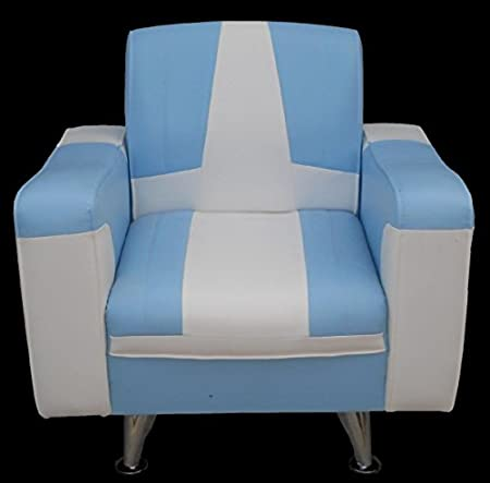 Design rétro fauteuil fauteuil cabriolet en simili cuir