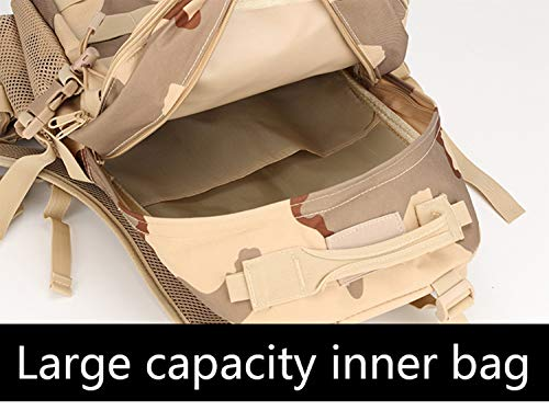 XRPXRP 35L Tactical Attack Backpack Waterproof Military Molle Backpack Military Backpack Hiking Camping Hiking Hunting 5