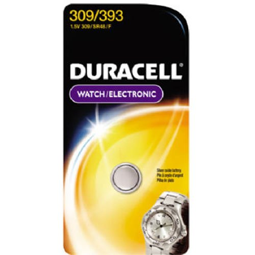Duracell 309/393 1.5V Watch and Calculator - Watch Battery 309
