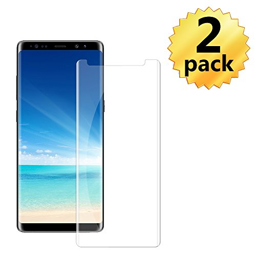 [2 Pack] Samsung Galaxy Note 9 Tempered Glass Screen Protector, invarsely [HD Clear][Anti-Bubble][9H Hardness][Anti-Scratch][Anti-Fingerprint] Screen Protector Note 9 by Acedining