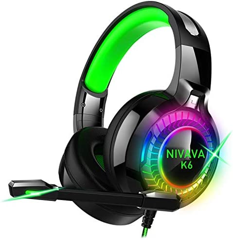 Nivava Headphones Microphone Nintendo Playstation product image