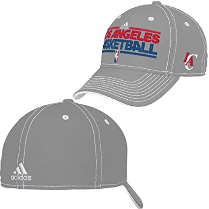 eed487b5eae Image Unavailable. Image not available for. Color  NBA Los Angeles Clippers  Flex Adidas Hat ...