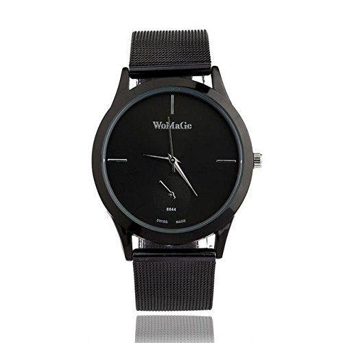 PCS Jewelry Women Watch Ladies Quartz Wristwatch - Black