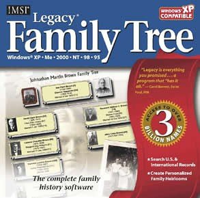 Legacy Family Tree (Jewel Case)
