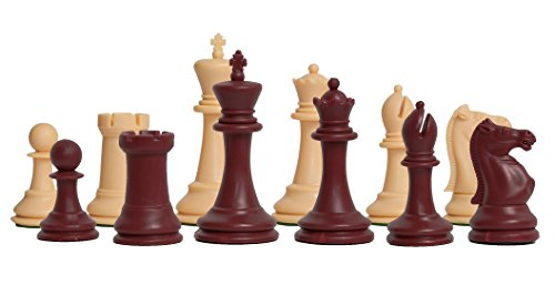 The House of Staunton - The Marshall Plastic Chess Set - Pieces Only - 3.75