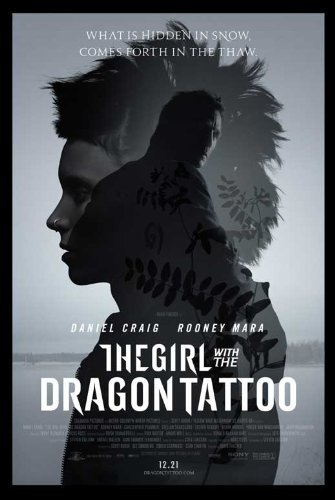 The Girl with the Dragon Tattoo Poster Style C 2011