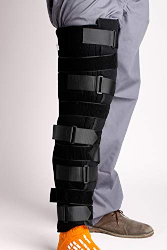 MediChoice Knee Immobilizer, Trimmable w/Hook and Loop Closure, Foam, Universal, 24 Inch, 1314OSG5024 (Each of 1) ()