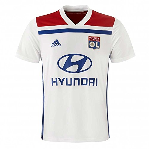 adidas 2018-2019 Olympique Lyon Home Football Shirt