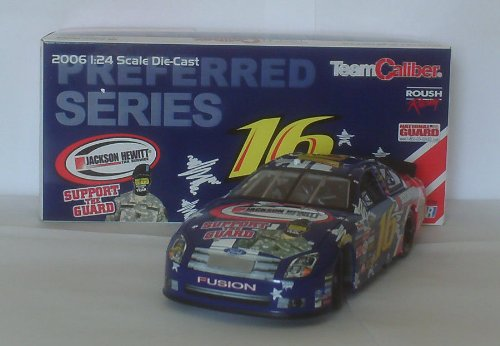 2006-greg-biffle-16-jackson-hewitt-1-24-team-caliber-preferred-nascar-diecast
