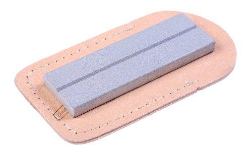 Coarse Diamond Pocket Stone (EZE-LAP 26C 1 by 3 Coarse Diamond Pocket Stone with Sheath)