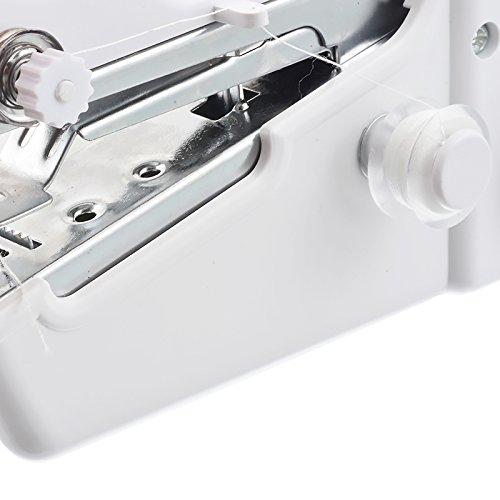 Souarts Mini Machine /à Coudre Compacte de Poche /à Main Domestique Portable pour Enfants et D/ébutants