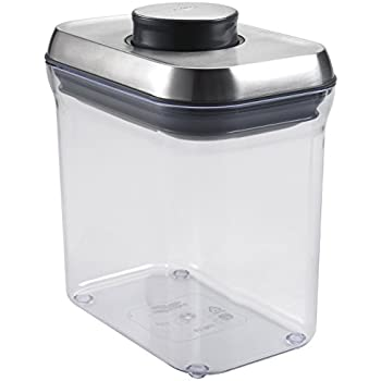 Amazon Com Oxo Steel Airtight Food Storage Pop Container