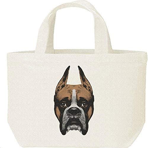 エムワイディエス(MYDS) ボクサー(犬)の顔/キャンバス S ランチバッグ