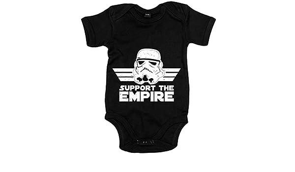1e703dd23cb84 Body bebé Star Wars Support The Empire Stormtropper - Negro