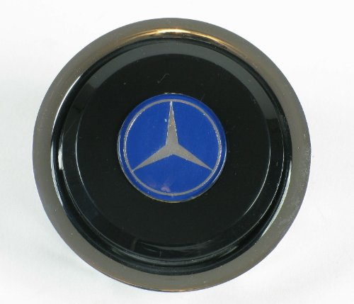 Nardi Steering Wheel Horn Button - Double Contact - Mercedes Benz - Fits Nardi Classic and Deep Corn Steering Wheels - Part # 4041.01.0204+4041.03.2428 ()