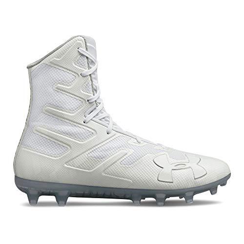 Under Armour Men's Highlight MC Lacrosse Shoe, 101/White, 7.5