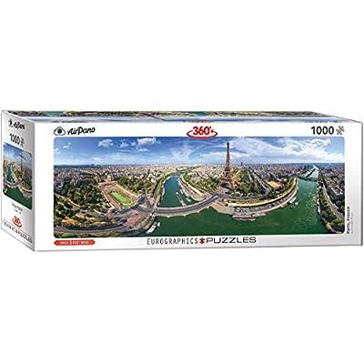 EuroGraphics (EURHR Paris France 1000Piece Puzzle (Panorama) 1000Piece Jigsaw Puzzle: Toys & Games