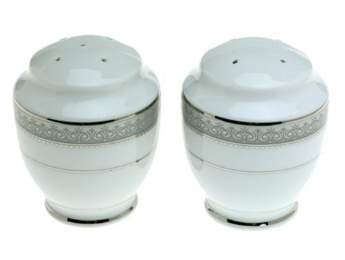 Mikasa Platinum Crown Salt and Pepper Shaker Set